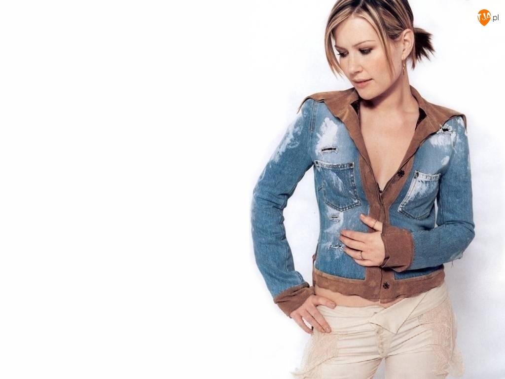 Dido, kurteczka, jeans, zamsz