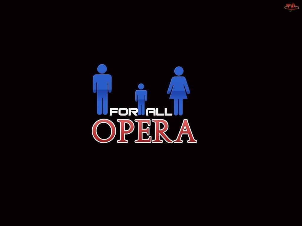 Opera, postacie, kobieta, mężczyzna, dziecko