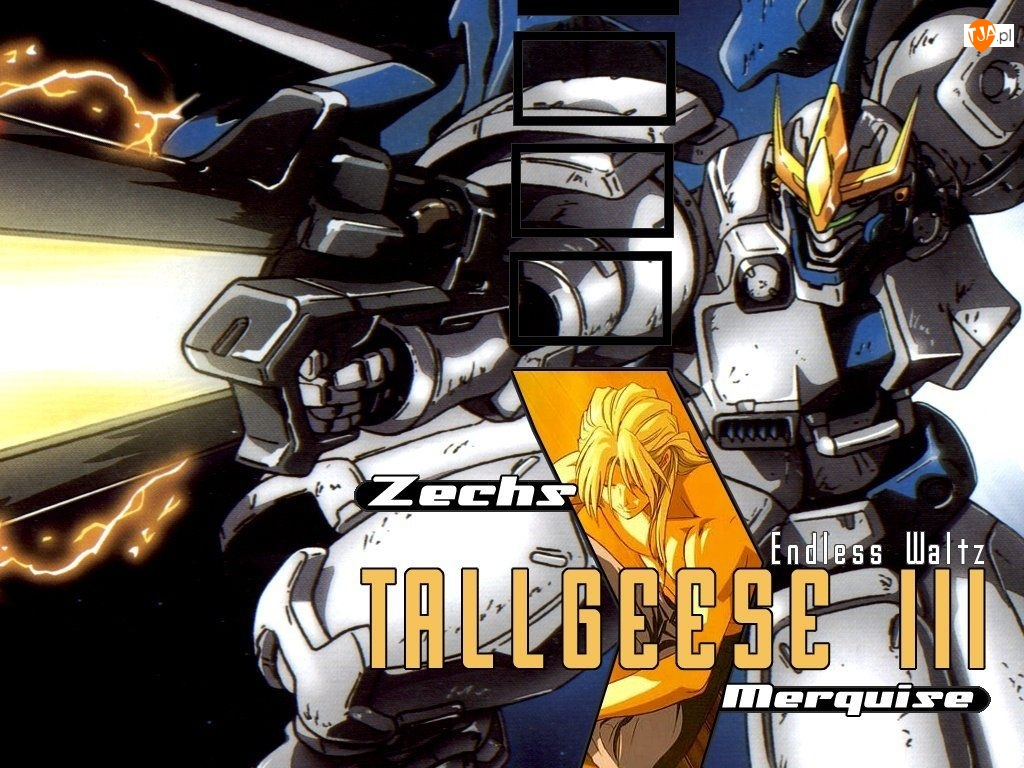 Gundam Wing, broń, robot, maska