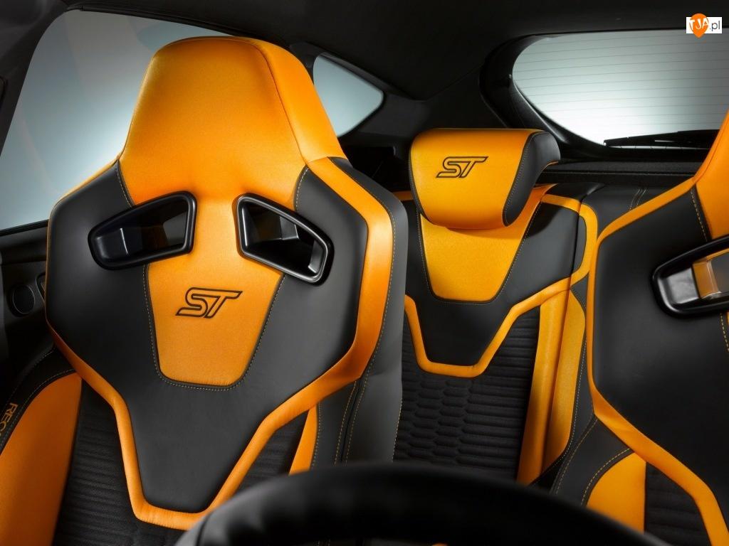 Fotele, Ford Focus ST 2010, Kubełkowe