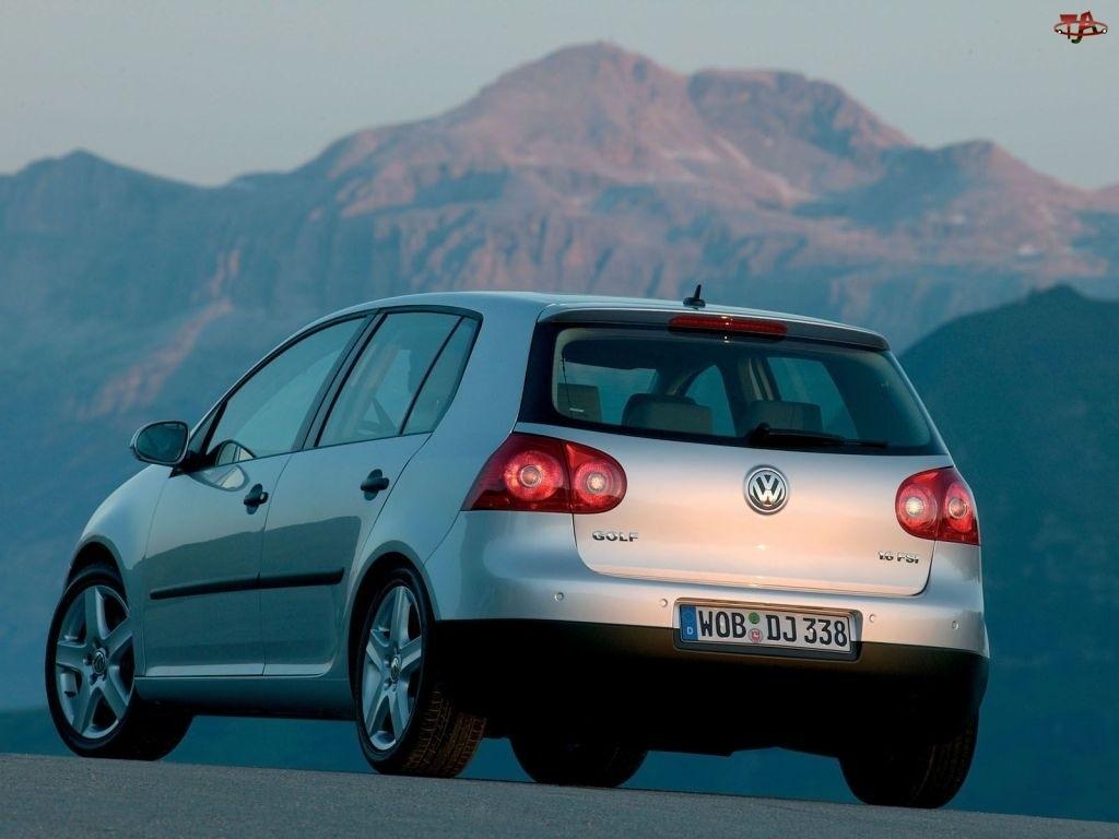Volkswagen Golf 5, Srebrny