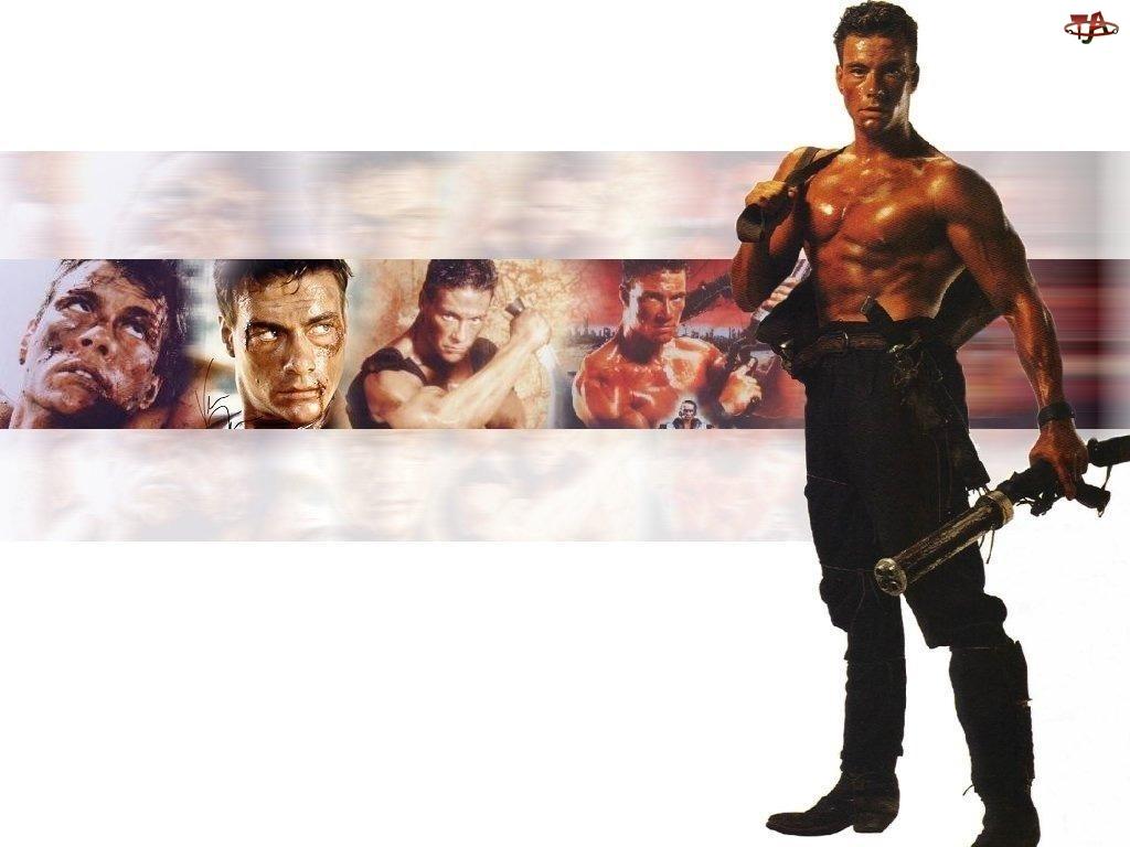 długie buty, Jean Claude Van Damme, broń