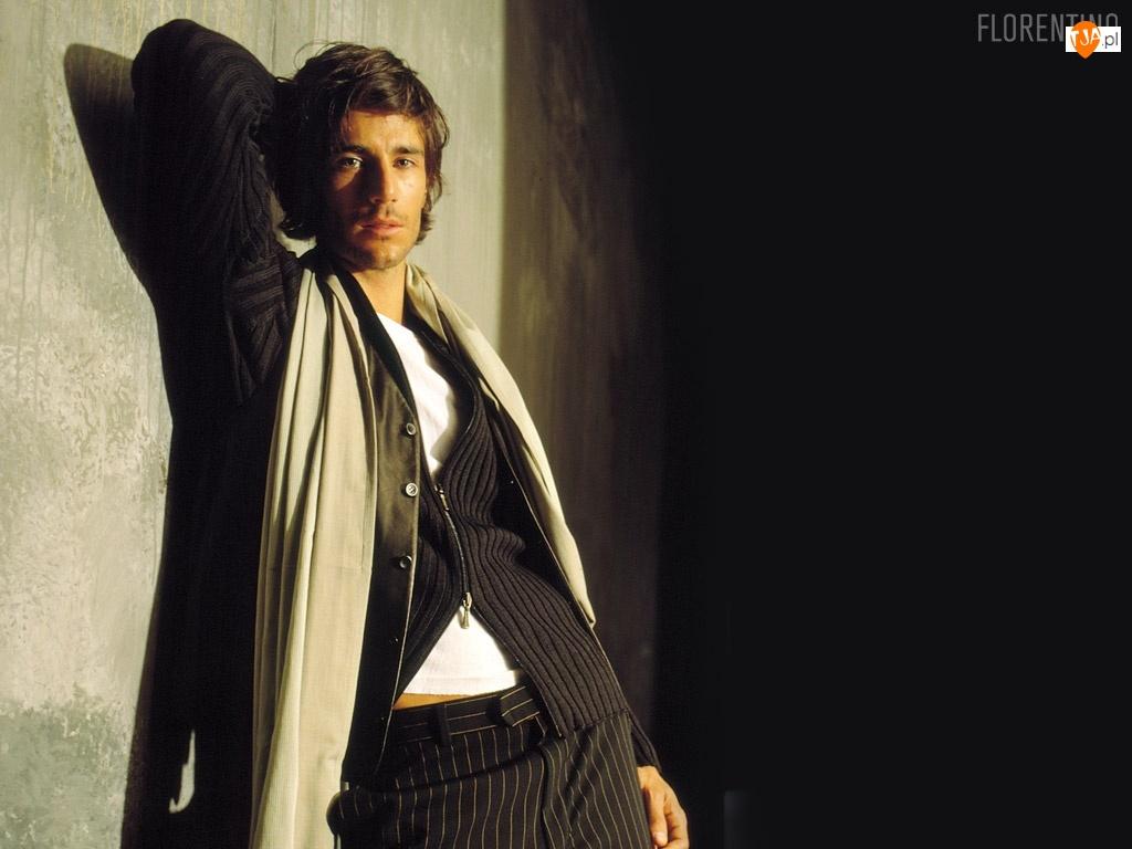 Florentino, szal, mężczyzna, sweter