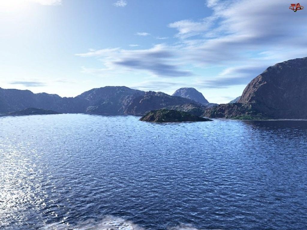 Chmurki, Jezioro, Góry