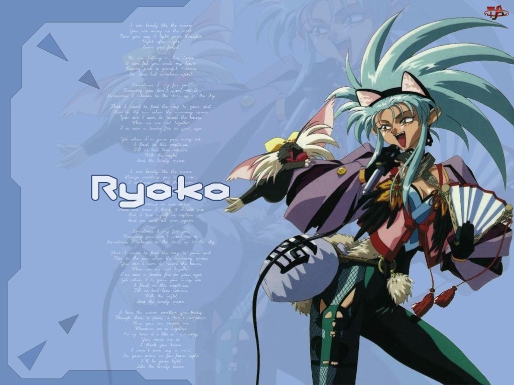 wachlarz, Tenchi Muyo, Ryoko