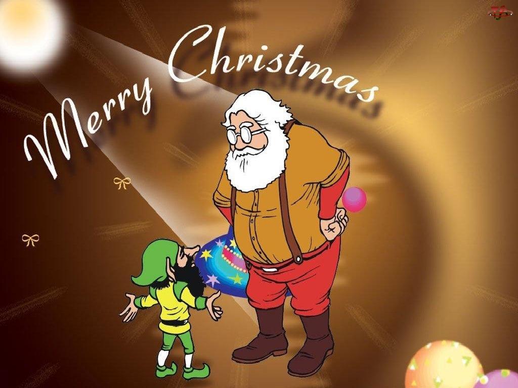 krasnal, Boże Narodzenie, mikołaj