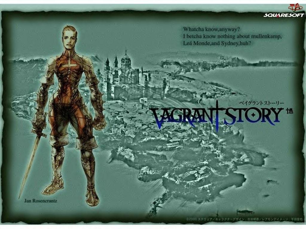 woownik, Vagrant Story, mężczyzna, fantasy