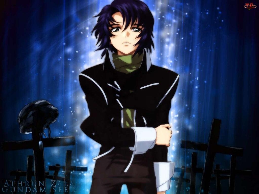 cmentarz, Gundam Seed, osoba