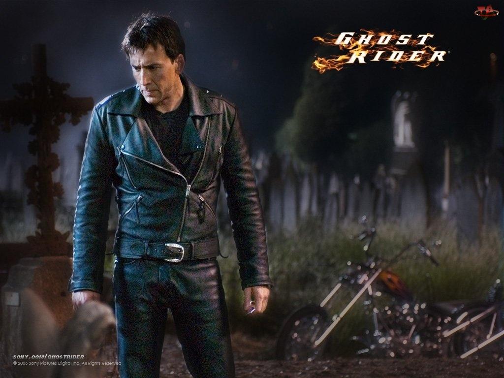 Cmentarz, Ghost Rider, Nicolas Cage
