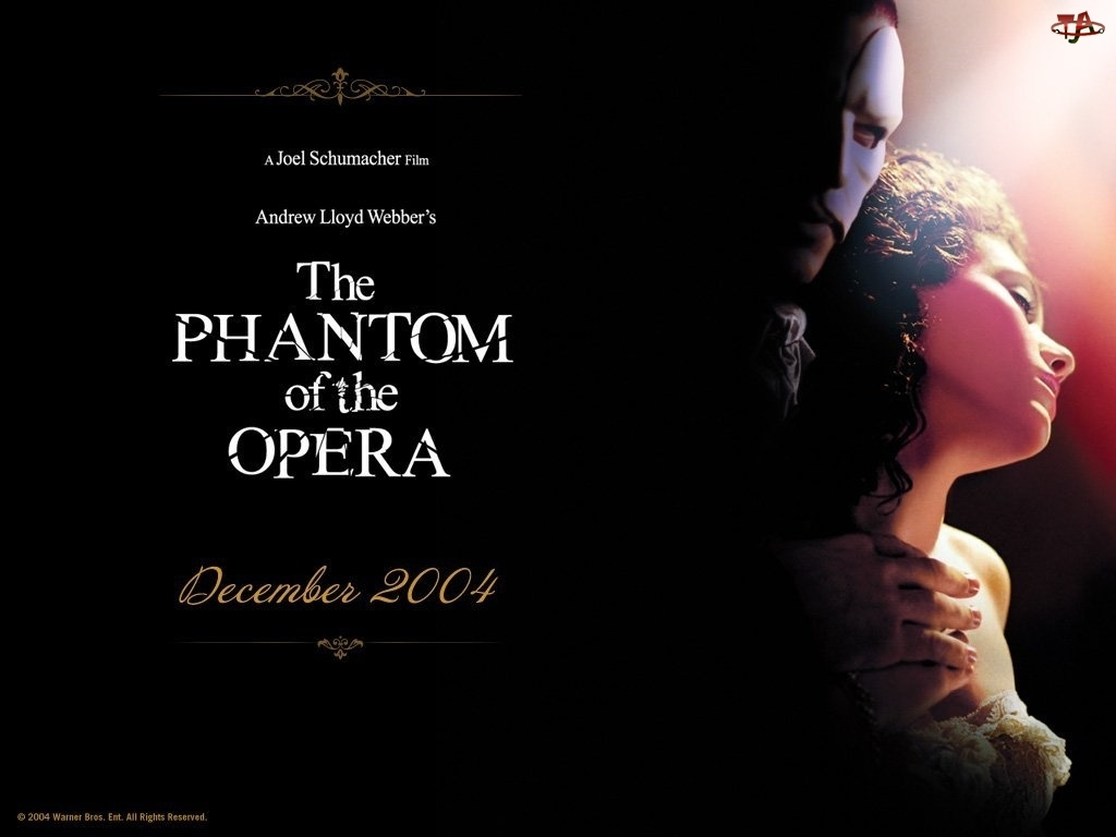 napisy, Phantom Of The Opera, Gerard Butler, Emmy Rossum, ciemno
