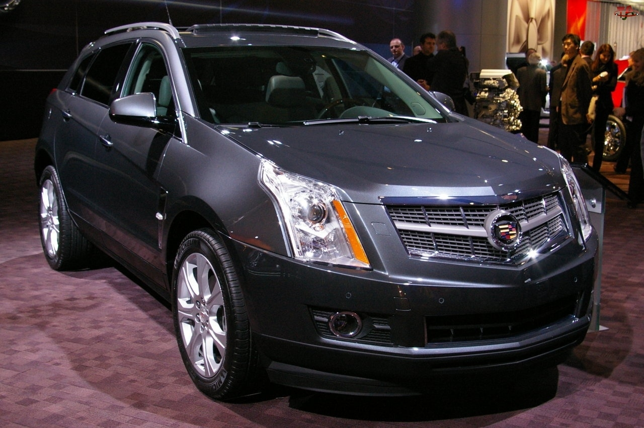 Cadillac SRX, Salon