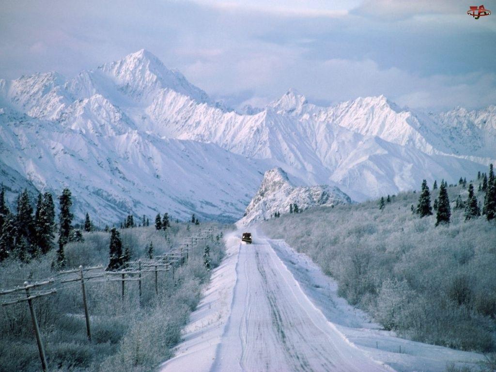 Góry, Ulica, Zima