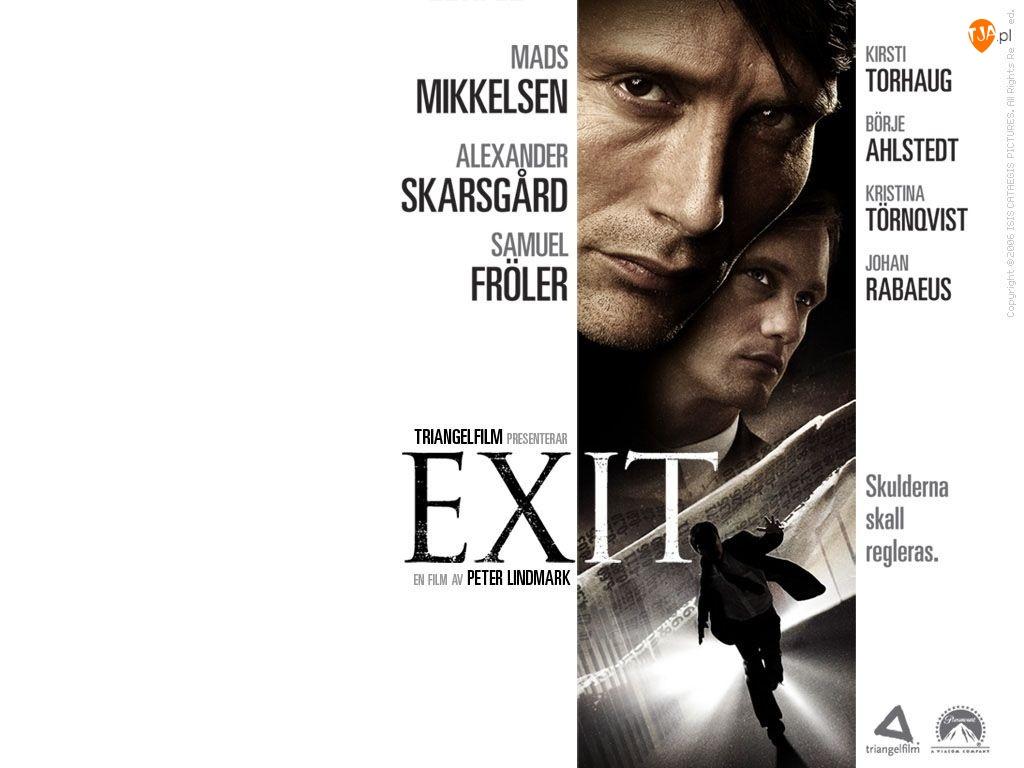 Exit, nazwiska, Mads Mikkelsen, twarze