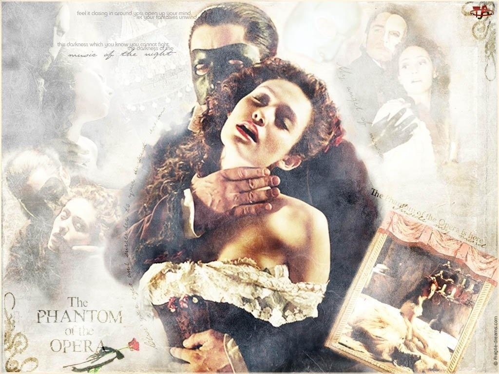Phantom Of The Opera, zdjęcie, Emmy Rossum, Gerard Butler