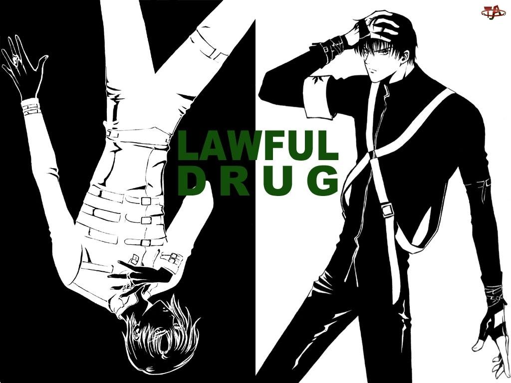 mężczyna, Legal Drug, postacie