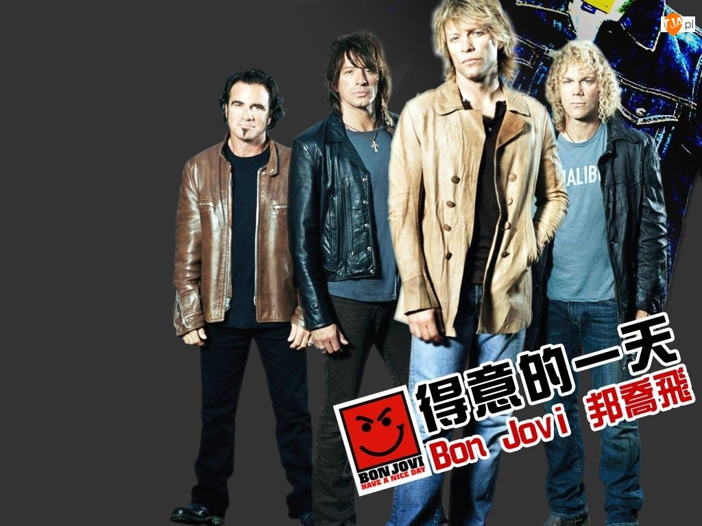 faceci, Bon Jovi, zespól cały