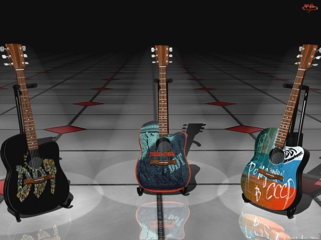 Kolorowe, Gitary