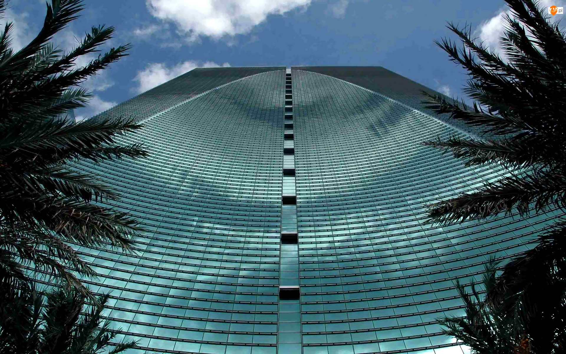 Fasada, Floryda, Miami, Conrad, Hotel