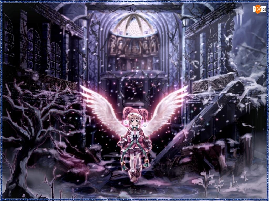 Cardcaptor Sakura, ruina, postać, skrzydła