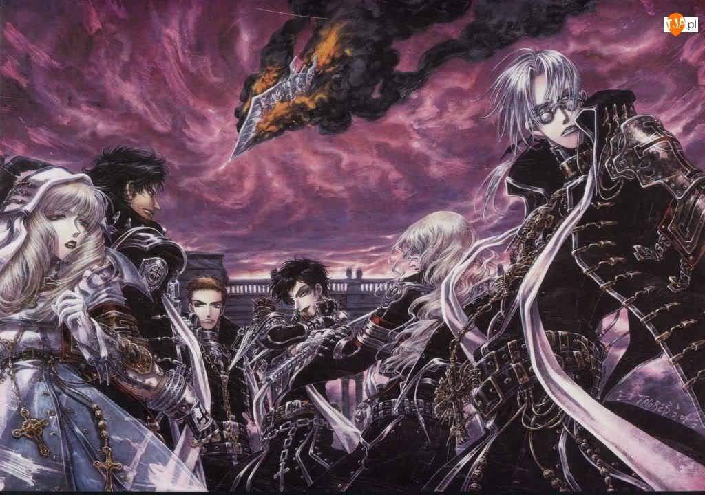 Trinity Blood, Anime