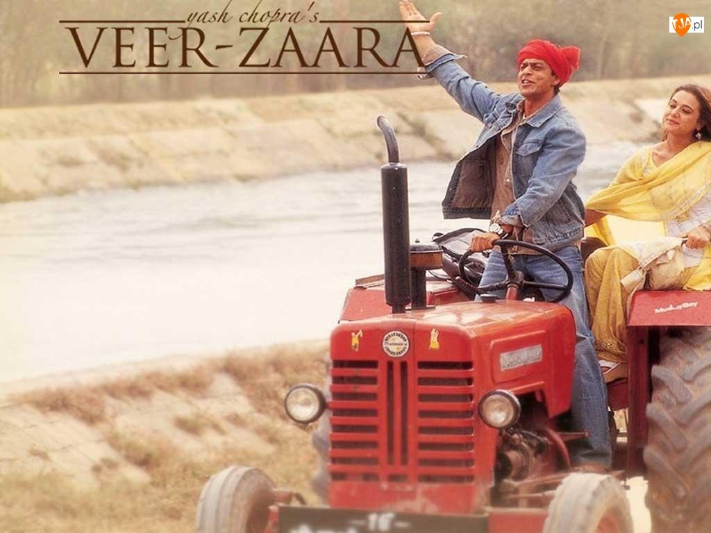 Veer Zaara, traktor, Shahrukh Khan, Preity Zinta