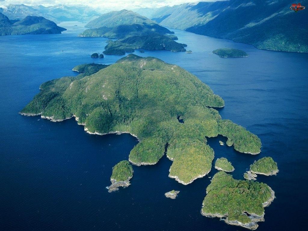 Morze, Nowa Zelandia, Wyspy