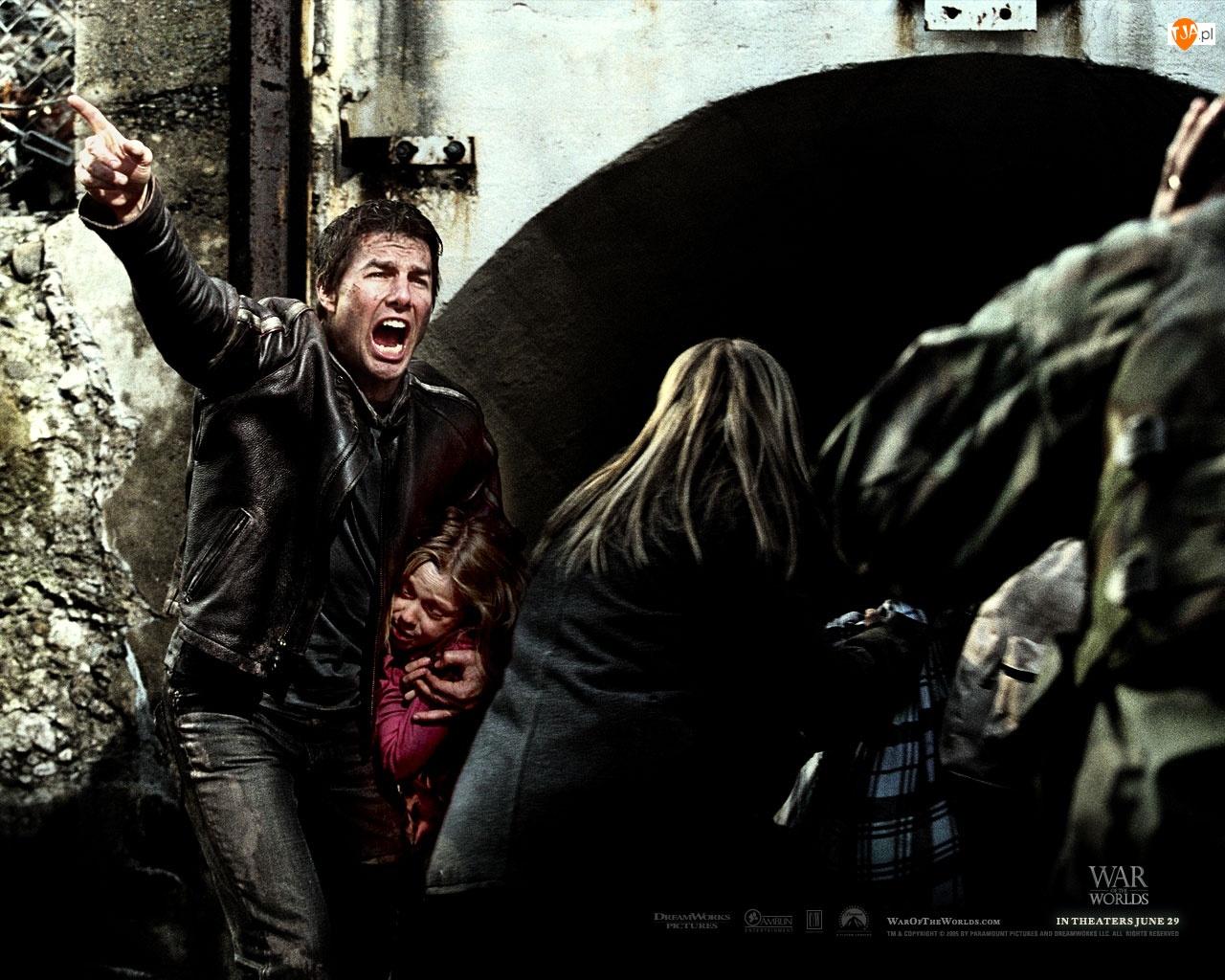 kobieta, Tom Cruise, dziecko