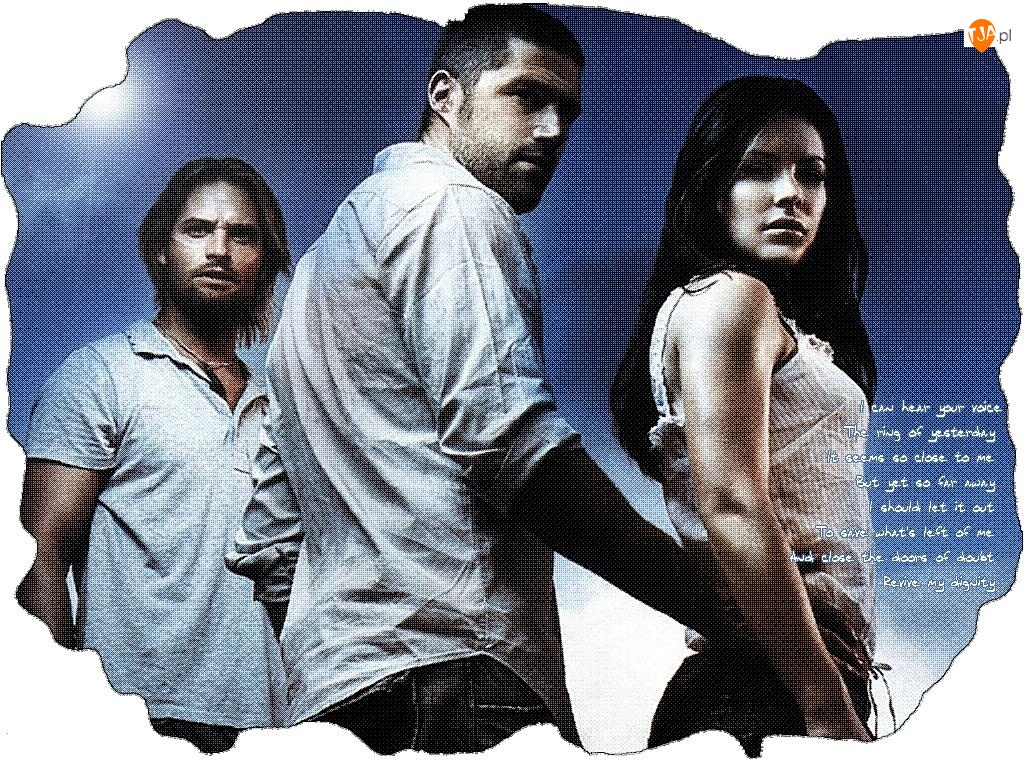 Josh Holloway, Filmy Lost, Evangeline Lilly, Matthew Fox