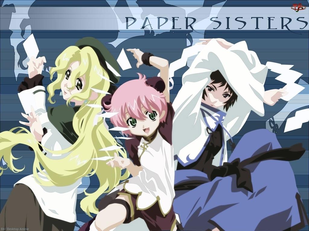 Read Or Die, kobiety, paper, siostry