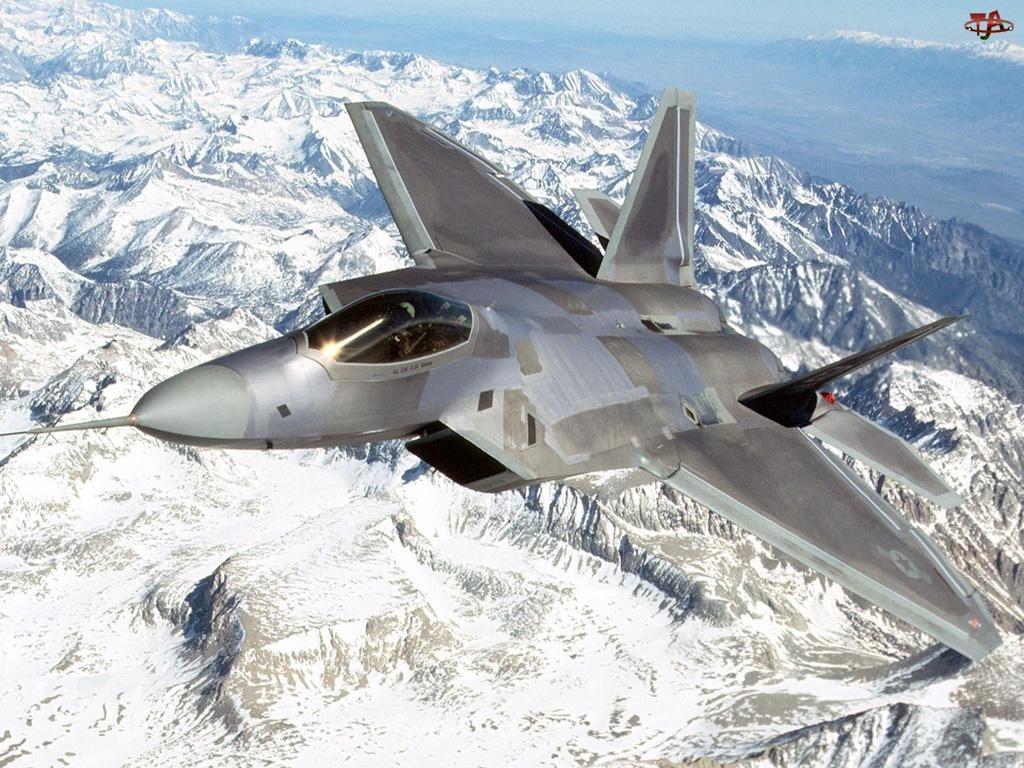 Odrzutowiec, Raptor, Góry, F-22