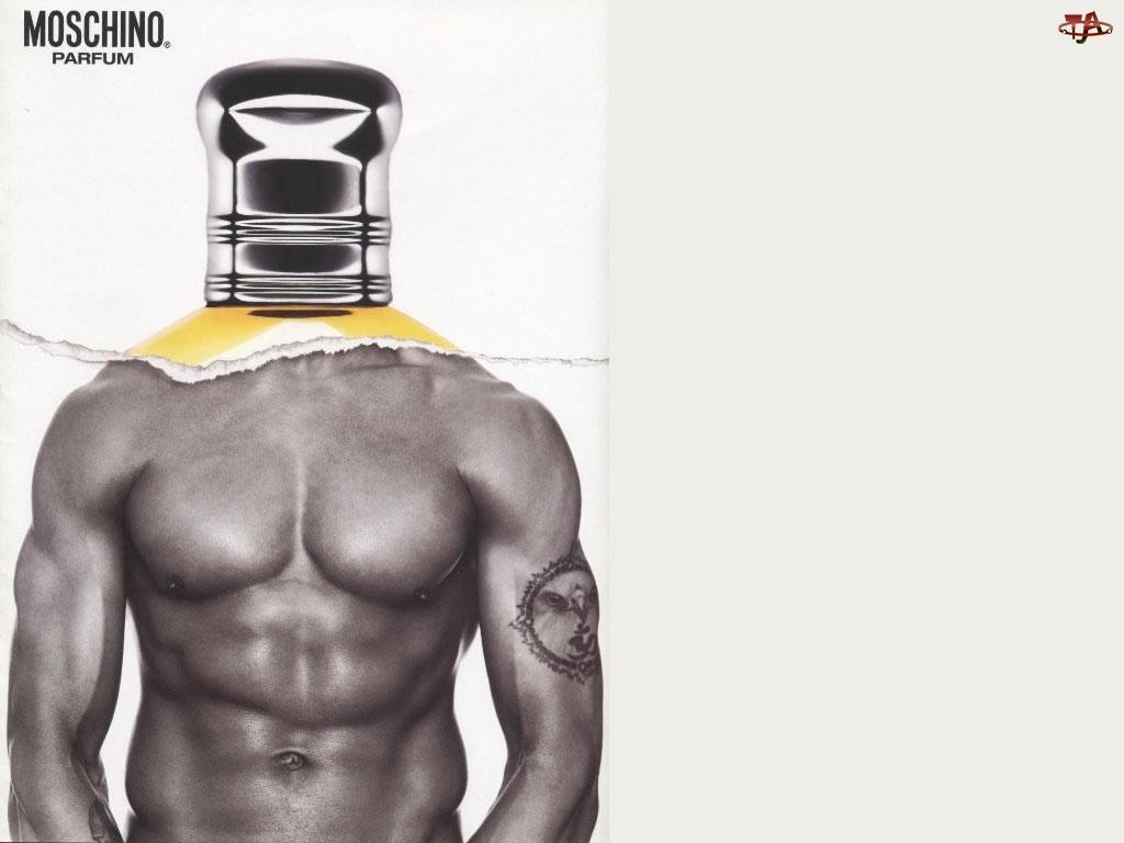 Moschino, perfumy, tors, flakon