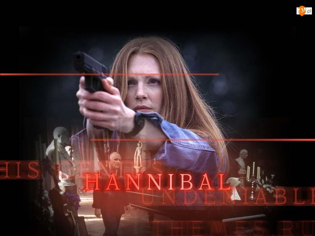 Aktorka, Hannibal, Horror