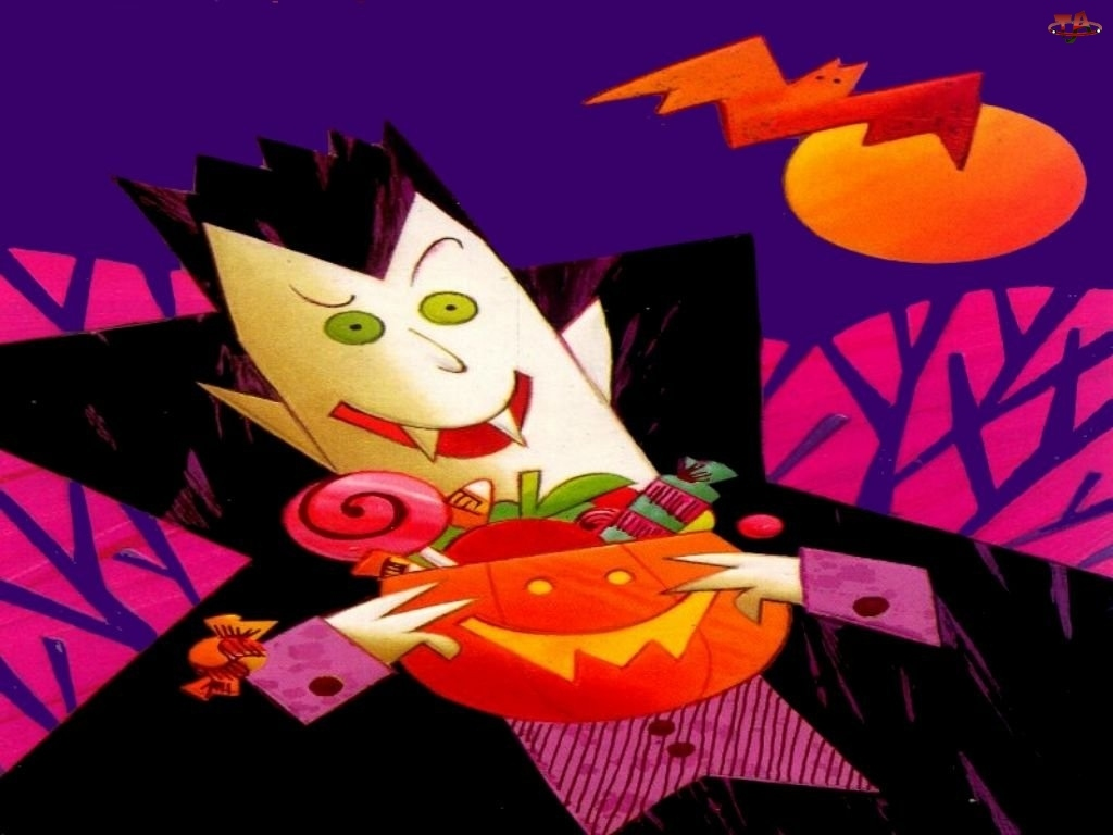 Halloween, cukierki