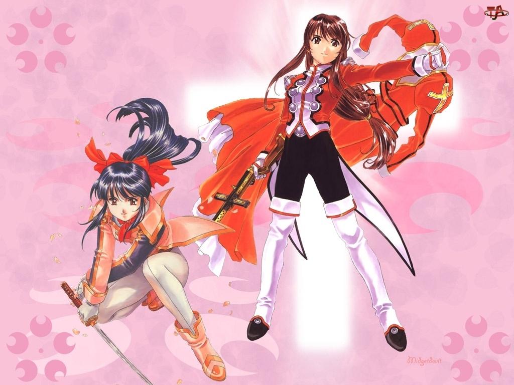 krzyż, Sakura Wars, miecz