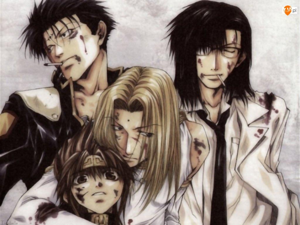 blizny, Saiyuki, rany