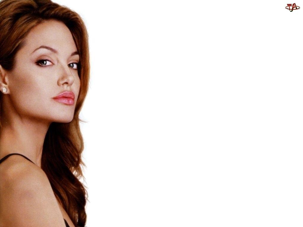 Angelina Jolie, brązowe włosy