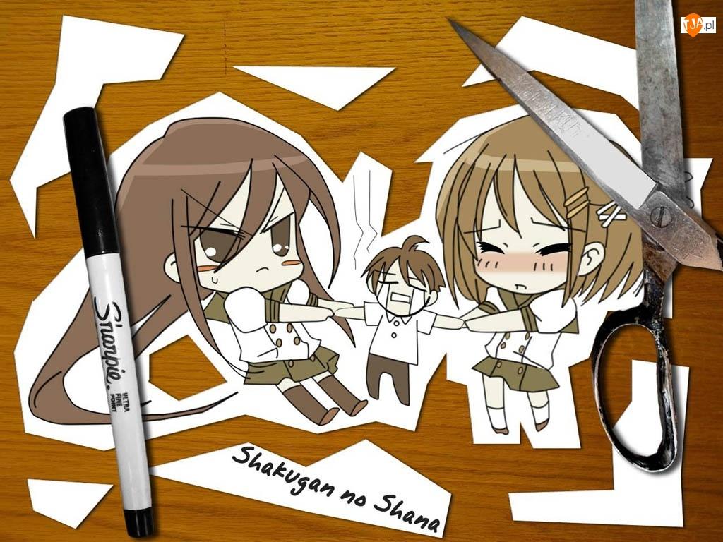 pisak, Shakugan No Shana, nożyczki
