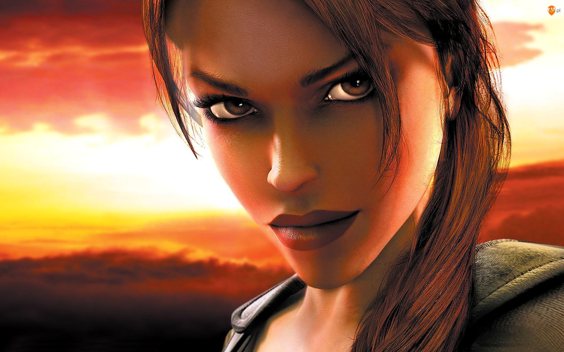 Portret, Lara Croft