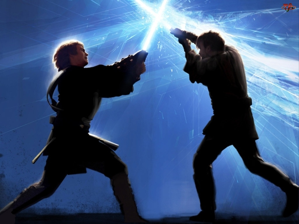Star Wars, laser, walka, mężczyźni