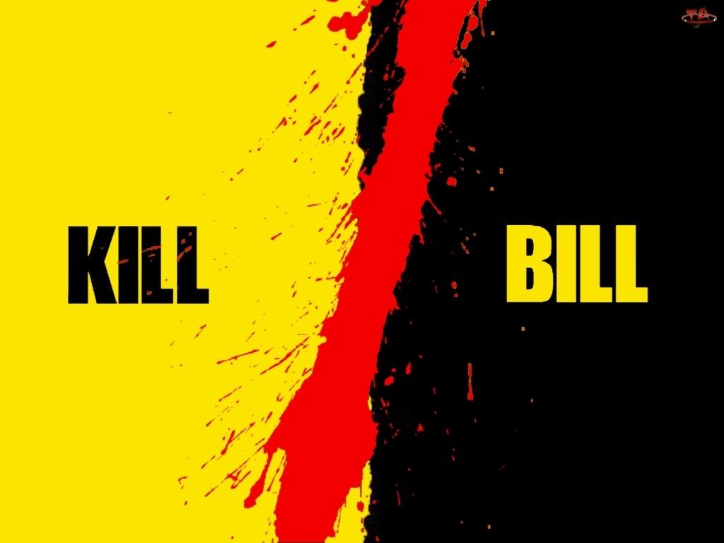 czarny, Kill Bill, żółty