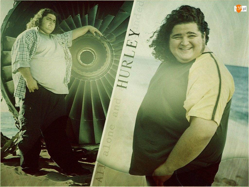 Jorge Garcia, samolotu, Lost, Serial, silnik