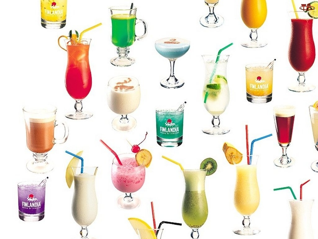 Drinki, kolorowe drinki