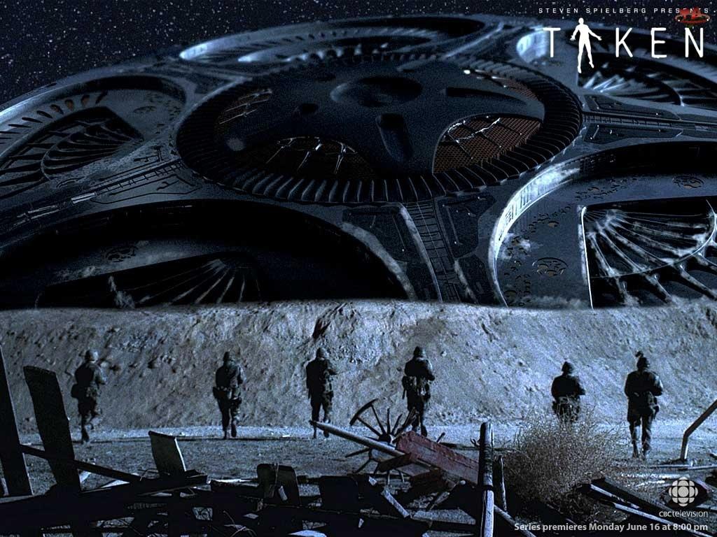 Film Taken, gwiazdy, ufo, żołnierze
