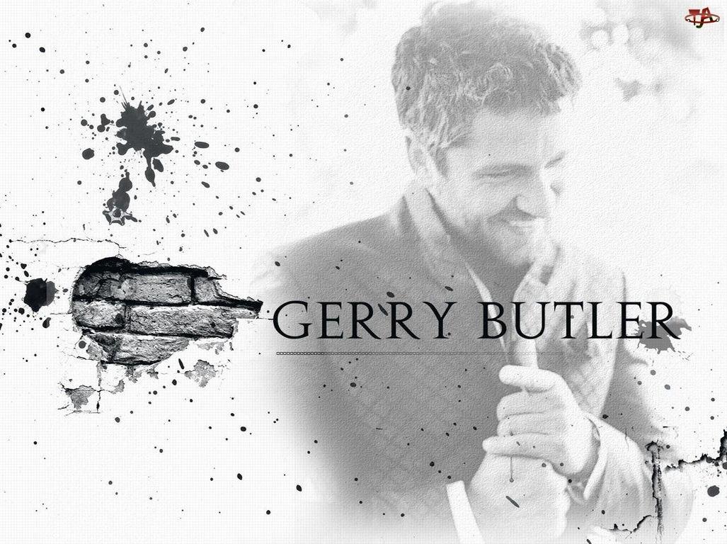 cegły, Gerard Butler, ręce