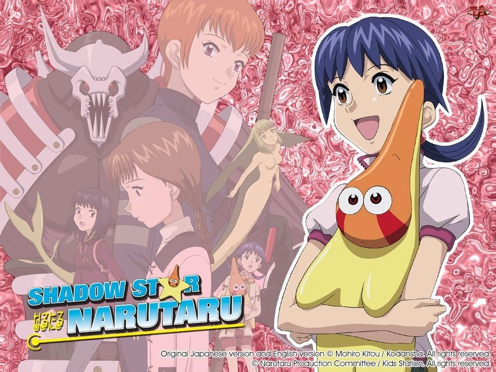 fioletowe włosy, Narutaru Shadow Star, gwiazdka