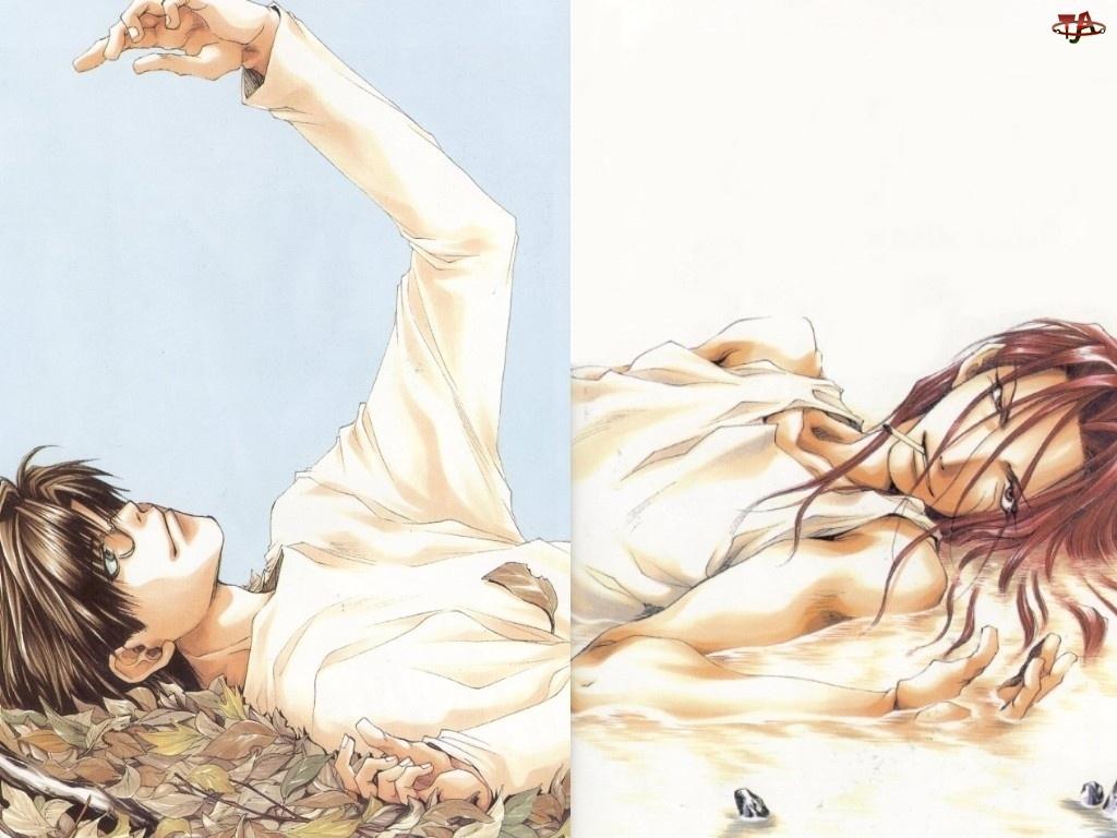 ludzie, Saiyuki, liście