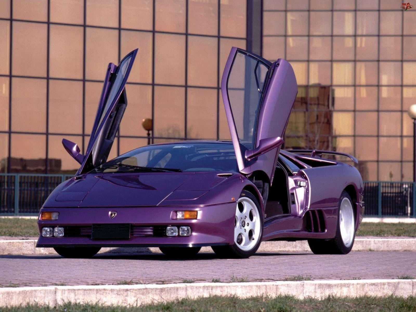 Fioletowe, Lamborghini Diablo