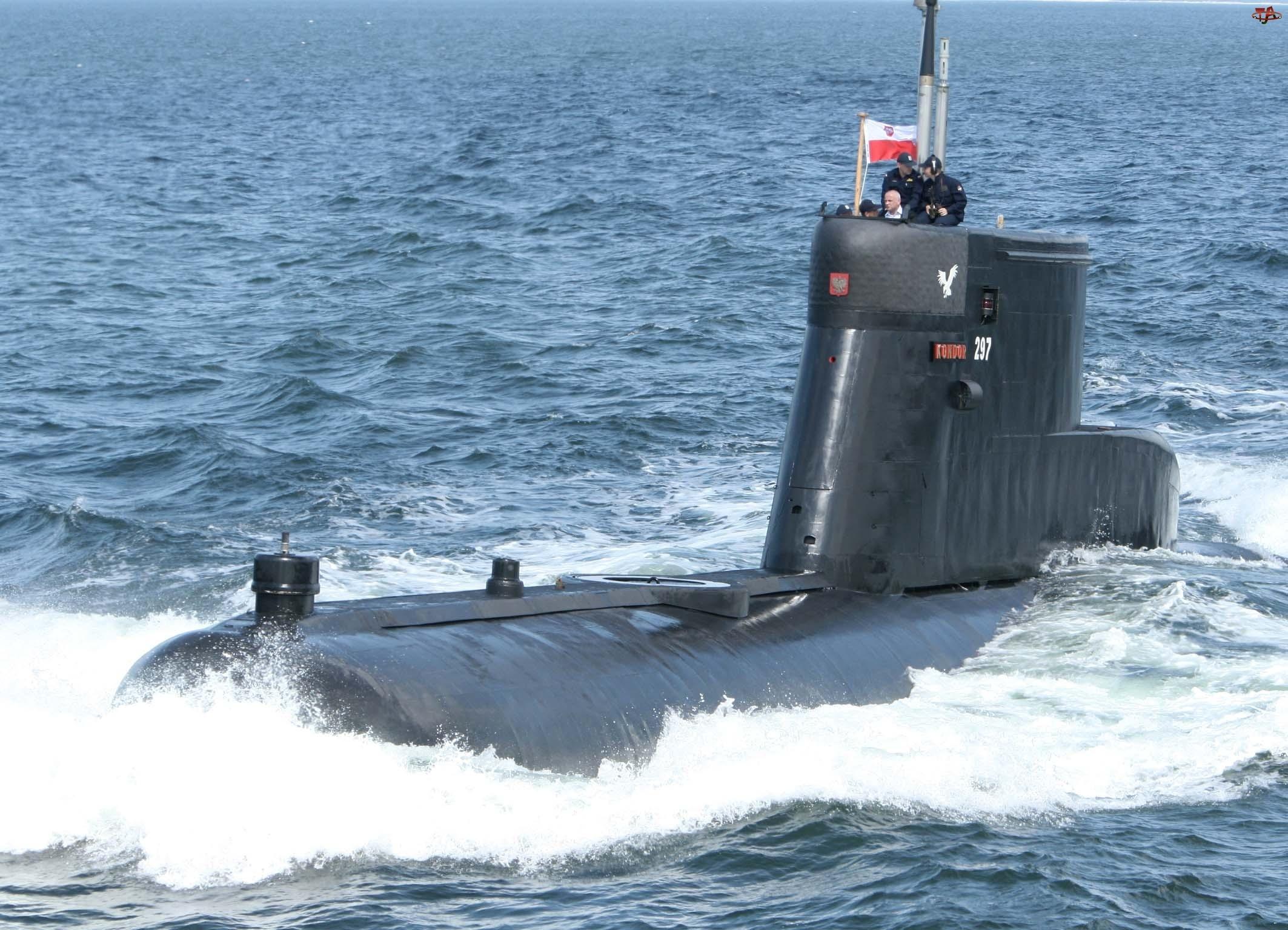 Podwodny, ORP, Polski, Kondor, Statek