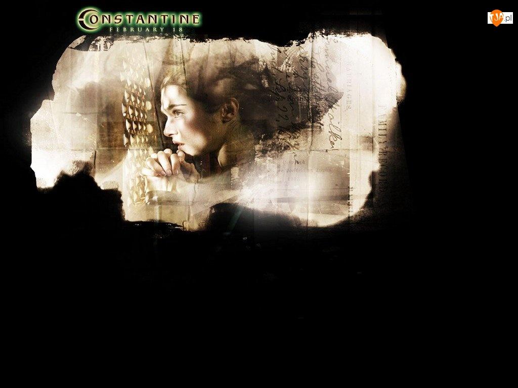 konfesjonał, Constantine, Rachel Weisz