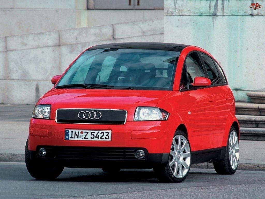 Przód, Czerwone, Audi A2